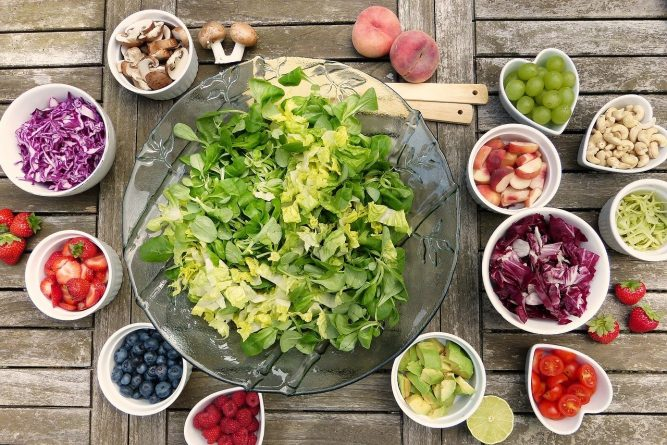 healthy food for flawless skin